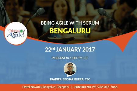 being agile with scrum in bangalore
