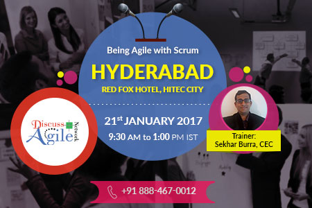 being agile with scrum in hyderabad